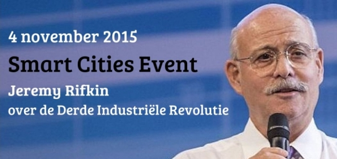 Topautoriteit Rifkin spreekt tijdens Smart Cities Event